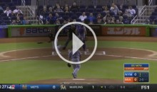 Dee Gordon Takes Pitch Right-Handed to Honor Jose Fernandez, Then Hits Home Run (Video)