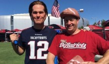 FakeBrady Tailgated with Patriots Fans on Sunday, Tonight He'll Haunt Your Dreams (Video + Pics)