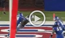 SMU Player Lays Out TCU WR With Dirty Helmet-To-Helmet Cheap Shot; Ejected Soon After (Video)