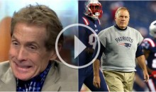 Skip Bayless: 'Bill Belichick Can't Be The Greatest Coach Ever Because He's a Cheater' (Video)