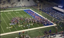 Kansas Fans Storms Field After Beating Rhode Island, Their 1st Win In 665 Days (Video)