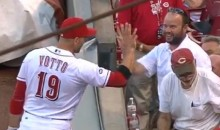 Joey Votto Gives Fan Foul Ball and High Five, Is Apparently a Changed Man (Video)