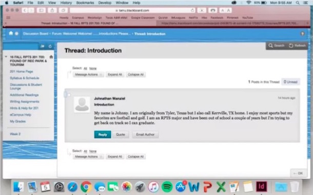johnny manziel back to college online message board