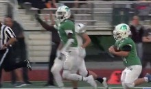 High School Kid with Down Syndrome Scores TD For His Mother Who Has Cancer (Video)