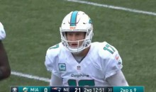 Miami Dolphins Having Headset Issues Against The Patriots In New England