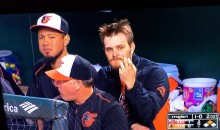 Orioles P Wade Miley Caught Flipping Paul Goldschmidt The Bird Because He Ruined Shut-Out (Video)