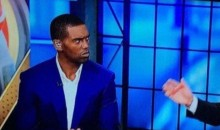Social Media Reacts To Randy Moss' 'Death Stare' at Trent Dilfer After Kaepernick Take