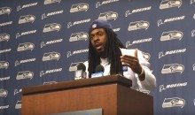 Richard Sherman Ignores Football to Address Police Shootings at Weekly Press Conference (Video)