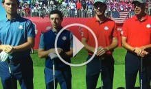 Ryder Cup Heckler Yells Out 'Rory's Short' & 'Rory's So Tiny' (Video)