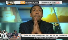 Stephen A. Smith: 'Jay Cutler is The Worst QB in The League' (Video)