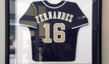 Someone Stole Jose Fernandez's High School Jersey From A Vigil That Was Held For Him