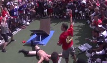 WWE Match Broke Out at Texas Tech Practice (Video)