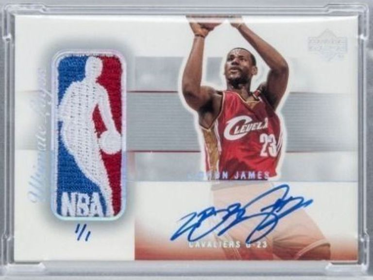 This LeBron James Rookie Card Is Expected To Sell For