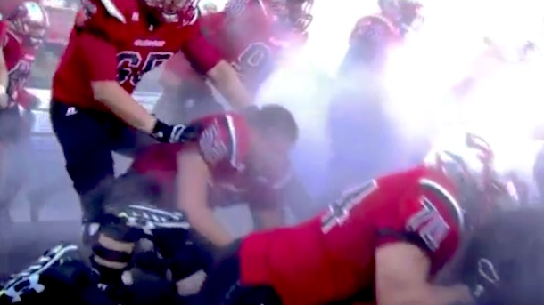 western kentucky football field entrance fail