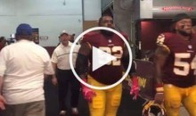 Redskins DE Chris Baker: 'Trash A** Eagles, We Run The Damn East' (Video)