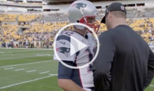 Big Ben Like An Awkward Little Kid Asked Tom Brady for His Jersey And It's AWESOME! (Video)