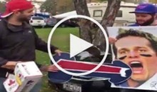 Bills Mafia Defile Tom Brady With Giant DONG (Video)
