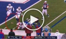 Bills Fan Throws Dildo Onto the Field During Play (Video)