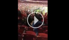 49ers Fans Brawl in The Stands During TNF Game Against Cardinals (Video)