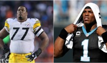 Steelers RT Marcus Gilbert to Cam Newton: 'Don't Be Out There If You're Scared'