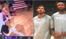Singer Leah Tysse Takes Knee While Performing Anthem Before Sacramento Kings Game (Video)