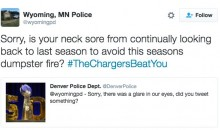 Minnesota PD & Denver PD Throw Shots at Each Other Over Vikings & Broncos