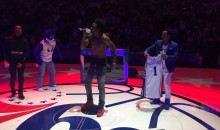 76ers Fans Boo Rapper Desiigner Off The Court During Halftime Performance (Video)