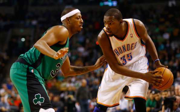 Oklahoma City Thunder v Boston Celtics