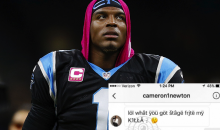 Cam Newton Busted Sliding in The DM's of An 'Instagram Model' (PICS)