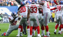 Giants DE Owa Odighizuwa Fined $12K For Pretending to Take a Picture of Landon Collins