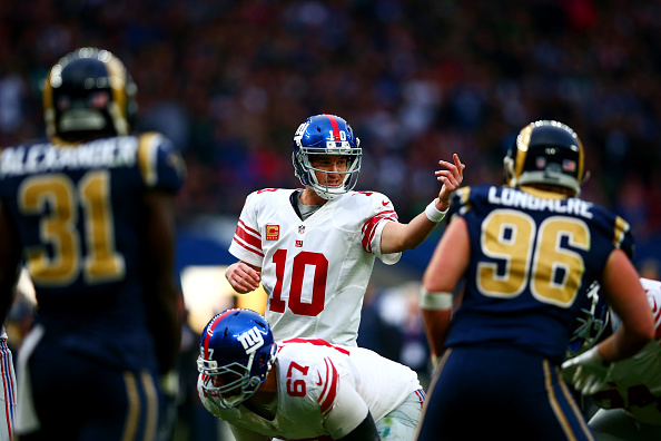 Eli Manning debuts 'Trump' audible call