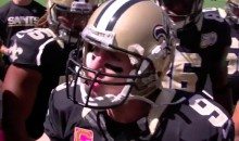 Drew Brees Gives a Passionate Speech During Saints' Pregame Huddle (Video)
