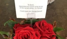 The Falcons Sent Flowers to the Players' Wives and Girlfriends Prior to Long Road Trip (Pics)