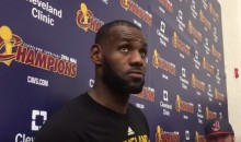 LeBron Weighs in on Trump's 'Locker Room Talk' Comments (Video)