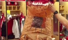Patrick Peterson Loses Contest, Has to Dress Up as a Dinosaur for MNF Pregame (Video)