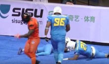 China's Football League Lets Its Players Celebrate Way More Than the NFL (Video)
