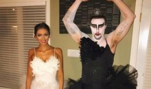 Senators Erik Karlsson Gets a Good Start on Halloween with This Black Swan Costume (Pic)