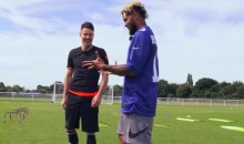 Odell Beckham Did Some Pretty Cool Soccer Tricks While in England (Video)