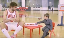 Watch a Little Kid in a Suit Interview Chicago Bulls Players About…Snacks (Video)