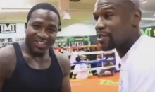 Adrien Broner And Floyd Mayweather Kiss and Make Up After Broner's Social Media Suicide Scare (Videos)