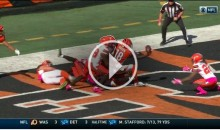 A.J. Green Catches an Unbelievable Hail Mary From Andy Dalton (Video)