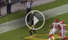 Antonio Brown Gets Flagged For Pumping Way Too Many Times During TD Celebration (Video)