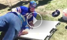 Bills Fans Show Rams Fans The Proper Way To Throw Someone Through a Table (Video)