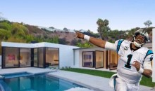 Cam Newton Allegedly Trashed a Beverly Hills Mansion He Rented After the Super Bowl