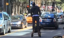Concussed Cam Newton Was Cruising Around Charlotte on His Scooter Without a Helmet on Monday (Pic)