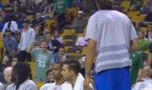 Watch This Awesome Celtics Kid Heckle the Sh*t Out of Joakim Noah (Video)