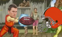 Someone Created Tom Brady Destroying The Browns in Epic 'Street Fighter' (Video)