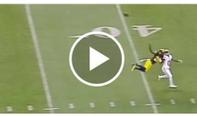 Michigan Wolverines' Jourdan Lewis Makes INSANE 1-Handed INT While Floating in The Air (Video)