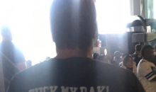 Dallas Cowboys Fan Wears 'Suck My Dak' Shirt To Game Against Bengals (PIC)