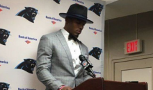 Cam Newton Walks Out of Another Presser After Loss To Saints